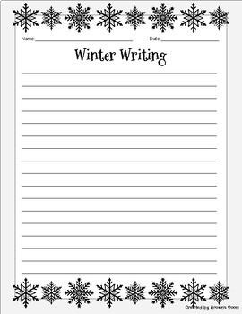 25 Unique Winter Writing Prompts