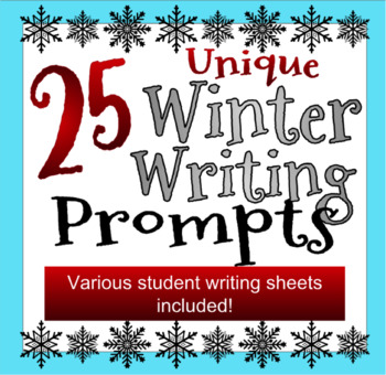 25 Unique Winter Writing Prompts