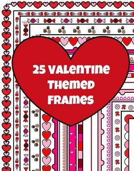25 Valentine's Day Frames and Borders