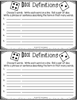 25 Vocabulary Activities for Any Word List