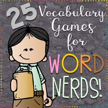 25 Vocabulary Games for Any Word List