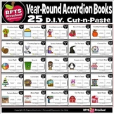 25 'Year Round' Accordion Books - Bundle