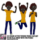 25 Youth Tween Teen Actions Clip Art  Teenage Student - Secondary Clipart