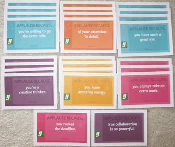 25 motivational cards positive reinforcement gratitude achievement motivation