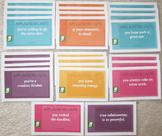 motivation 25 cards positive reinforcement gratitude achievement SHIPPING INCL