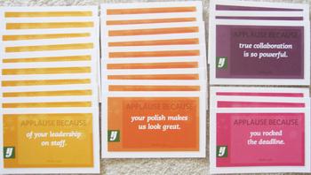 25 motivational cards positive reinforcement gratitude leadership motivation