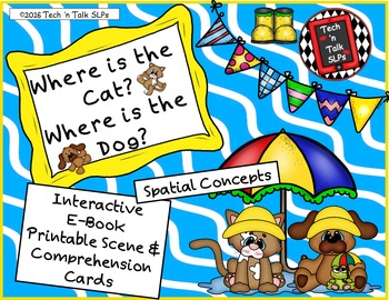 Where is the Cat?  Where is the Dog? - Spatial Concepts