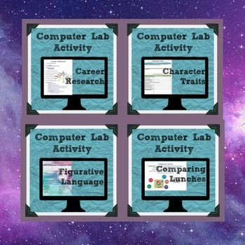 25 weeks of computer lab activities for the english classroom