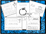 250 Bible Learning Worksheets Download. Preschool-Kinderga
