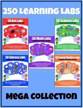 250 Learning Labs - Art Math Science Social Studies Language Projects