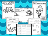 250 Printable Preschool Learn Our Colors Worksheets. Homeschool and Preschool