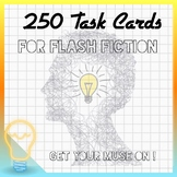250 Task Cards for Flash Fiction (High Engagement Topic Me
