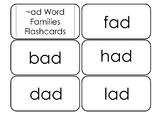 250 Word Family Flashcard Set.