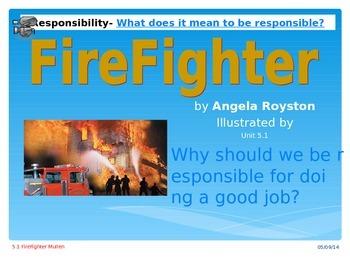 2.5.1 Fire Fighter Reading Street 2nd Grade Unit  5 Week 1 Power Point