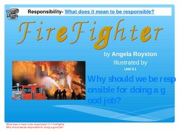 2.5.1 Second Grade Reading Street, Fire Fighter, Unit 5 Week 1 pp smart board