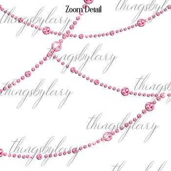 254 Diamond String Clip Arts, Diamond Strand Curtain Overlay