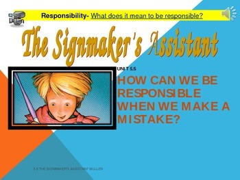 2.5.5 2nd Grade Reading Street Signmaker's Assistant Unit 5 Week 5 pp smartboard