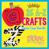 26 A - Z Lower Case Alphabet Letter Craft Bundle (Journey's Aligned)