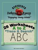 26 A to Z Letter Tracing Alphabet Worksheets