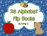 26 Alphabet Flip Books