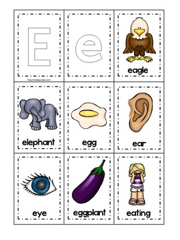 26 Alphabet Memory Matching Printable Games in a ZIP file. Preschool-KDG Phonics