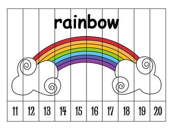 26 Alphabet Numbers Order Puzzles (11-20) by Klever Kiddos ...