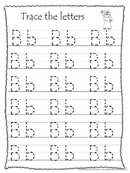 26 Bible Friends Alphabet Tracing Worksheets. Preschool-KDG. Bible  curriculum.