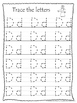 26 Bible Friends Alphabet Tracing Worksheets. Preschool-KD