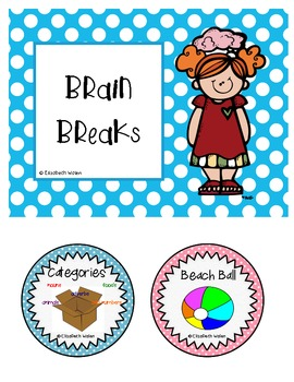 26 Brain / Shake Breaks for the Elementary Classroom
