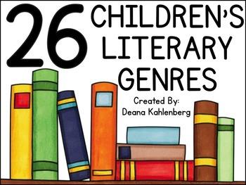26 Children's Literary Genres