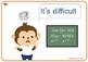 26 Classroom Language cards.  For Preschool, Kindergarten and ESL/EFL Class