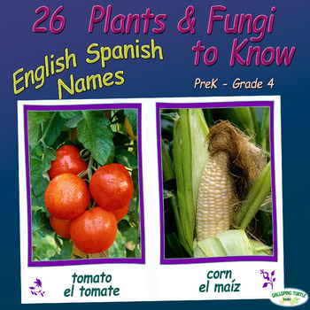 26 Common Plants and Fungi to Know – Includes English and Spanish Names