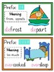 26 Common Prefixes Poster Cards (English, Spellings, SPaG)