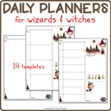 26 DAILY planners / organizers for wizard teachers & students