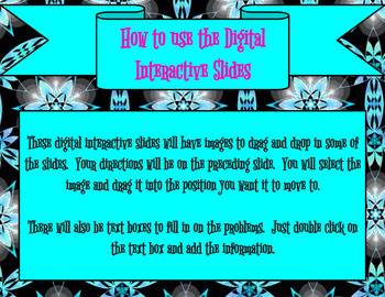 26 Digital Interactive Multiplication Problem Activities - Math Google Slides