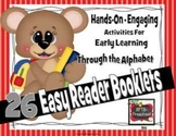 26 EASY READER BOOKLETS {COLOR & B& W} CORE CONNECTION