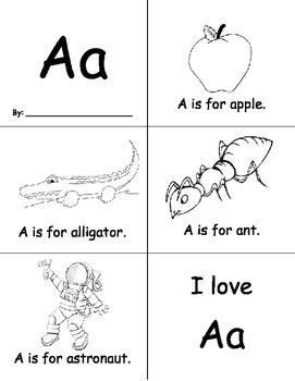 26 Easy Alphabet Books