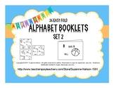 26 Easy Fold Alphabet Booklets Set 2