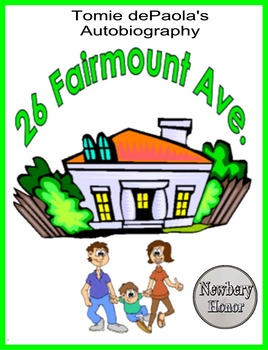 26 FAIRMOUNT AVE,  An Autobiography by Tomie dePaola, A Newbery Honor Book