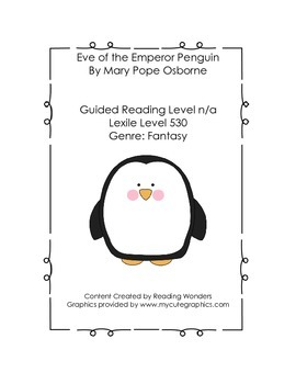 Eve of the Emperor Penguin Book Club