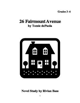 26 Fairmount Avenue Novel Study