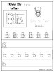 26 I Know My Letters Printable Worksheets in a PDF file.