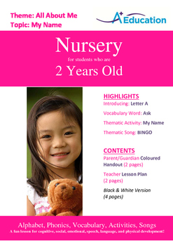 26-IN-1 BUNDLE - 26 Lessons - A to Z (Bundle 2) - Nursery (2 years old)