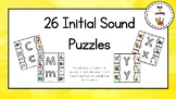 26 Initial Sound Puzzles
