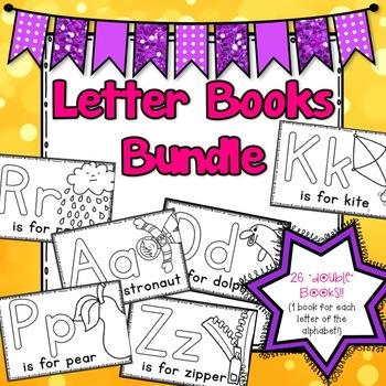 26 Letter Books Bundle (Alphabet double books)