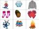 26 Mots-étiquettes d'hiver - Imprimable
