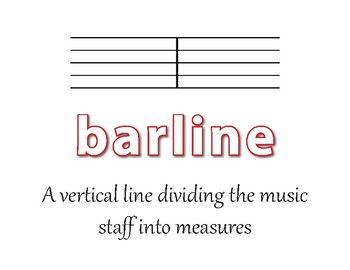 26 Music Terms - Word Wall Posters