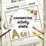 Handwriting Activity Sheets