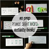 26 NO PREP Sight Word Activity Books - Set #2