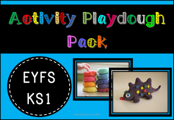 Activity Playdough Pack (includes specific tasks and covers letter formation)